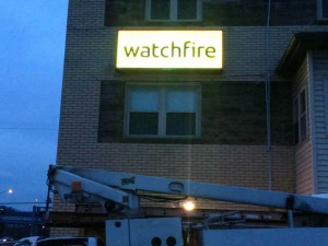 Watchfire LED Sign 2